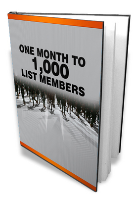 Product picture One Month To 1000 List Members